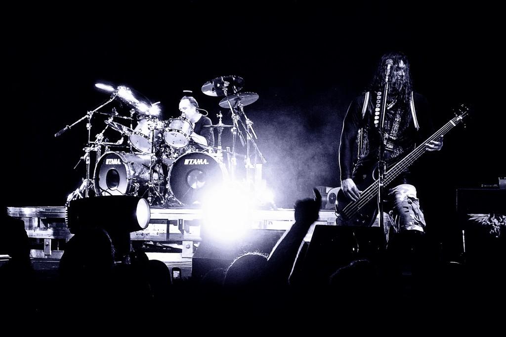 Lars & Rob Metallica - Deatch Magnetic Launch Party London 09 /fot. R. Kotylak/