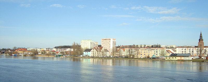Gryfino panorama